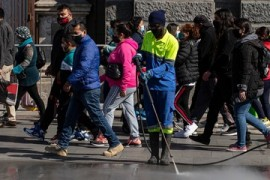 Santiago lockdown eases: Chile authorities fear COVID resurgence