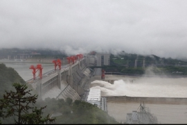 China dam faces biggest flood test since opening