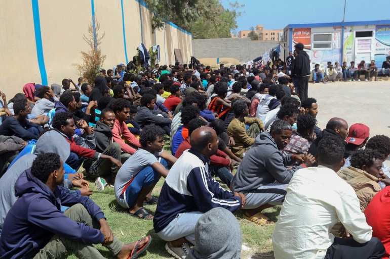 Amnesty said the EU did not pressure Libyan authorities to respect the rights of refugees and migrants [File: Mahmud Turkia/AFP]