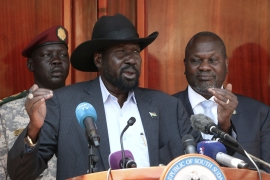 The report by the UN Commission on Human Rights in South Sudan came six days after President Salva Kiir fired the country's finance minister, the head of the tax-gathering National Revenue Authority as well as the director of the state-owned oil company [AFP]