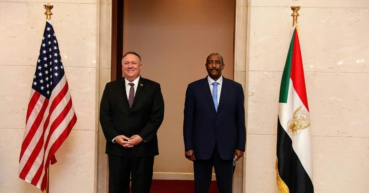 Pompeo seeks Sudan breakthrough before US presidential election - aljazeera
