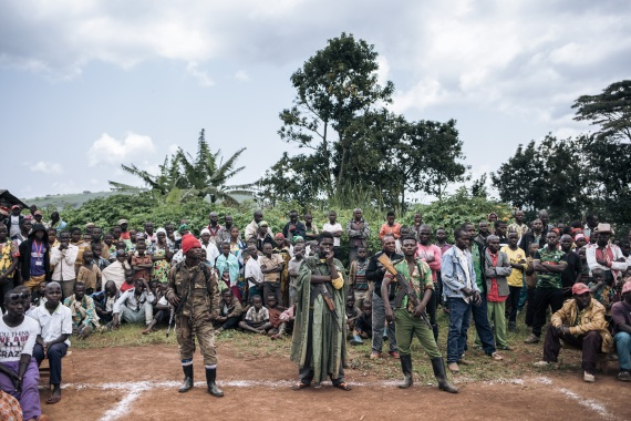 CODECO is made up of fighters from the Lendu ethnic group [File: [Alexis Huguet/AFP]