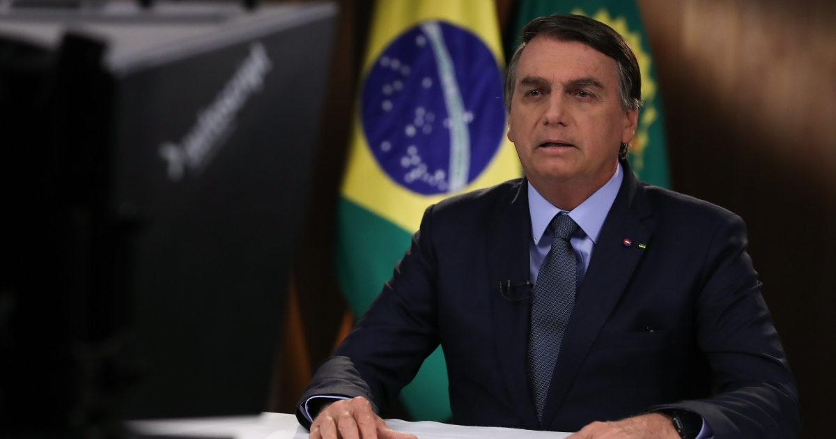 How will Brazil's President Bolsonaro face public anger?