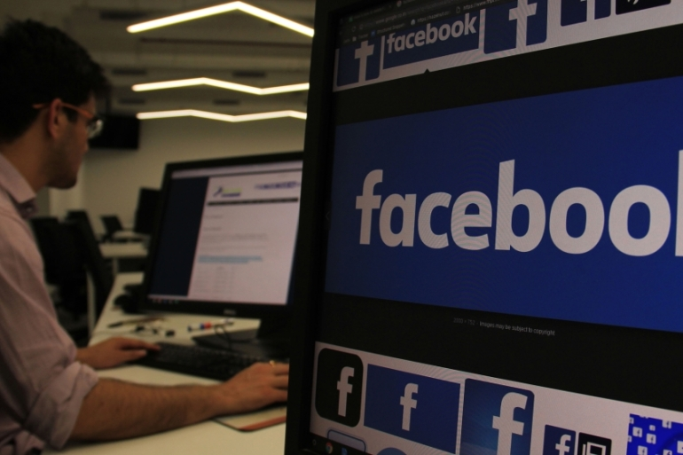 Facebook has more than 328 million users in India, its largest audience globally [Nasir Kachroo/NurPhoto/Getty Images]