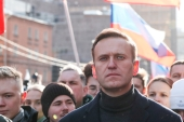 Navalny was flown from Russia to Germany last month after falling ill on a domestic flight in Siberia [File: Shamil Zhumatov/Reuters]