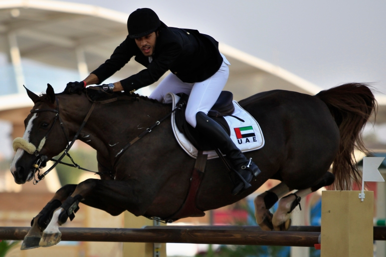 In 2015, the United Arab Emirates was suspended by the FEI over horse welfare issues [File: Ahmed Jadallah/Reuters]
