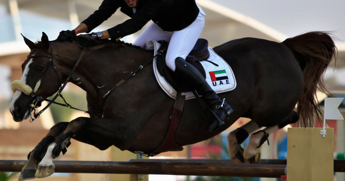 UAE suspended from equestrian competitions for breaking rules