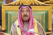 Sheikh Sabah had served as Kuwait's emir since January 2006 [Bandar Algaloud/Reuters]