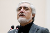 Abdullah said discussions with the Taliban in Qatar so far have been positive [File: Mohammad Ismail/Reuters]
