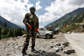 The two Asian nations have been locked in a military standoff in the Himalayan region of Ladakh for almost eight months [File: Danish Ismail/Reuters]