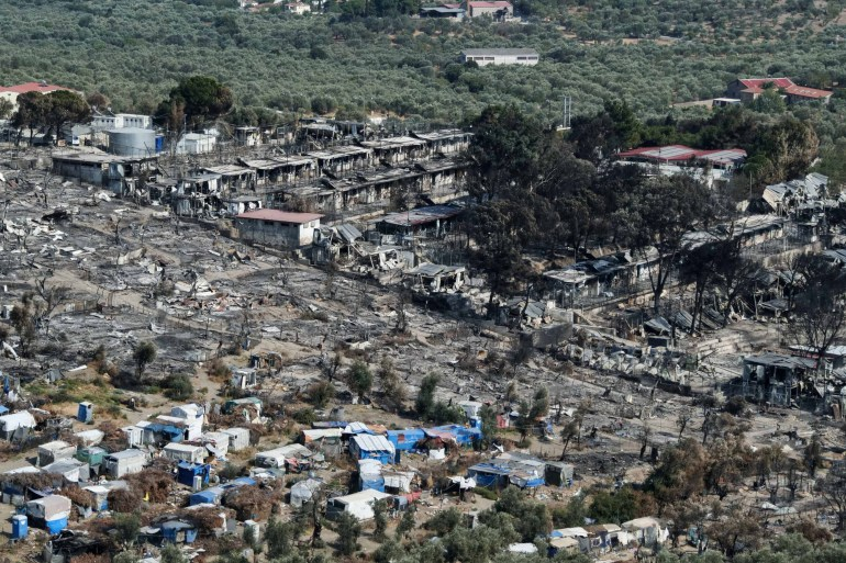 Greece to Move More Refugees to Mainland After Moria Camp Fire
