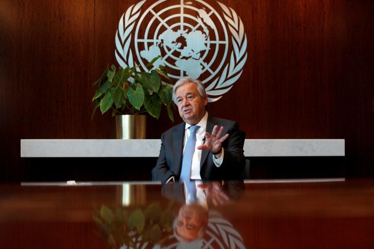 دبیرکل سازمان ملل متحد آنتونیو گوترش