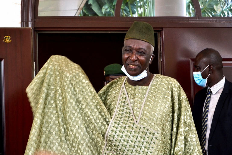 The new interim president of Mali, former colonel Bah Ndaw [Amadou Keita/Reuters]