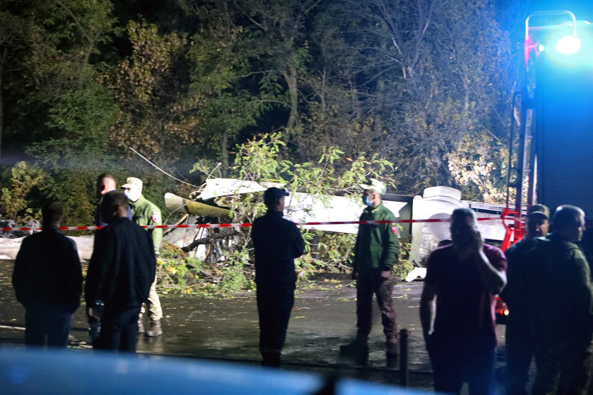 Military plane crashes in Ukraine, killing 22