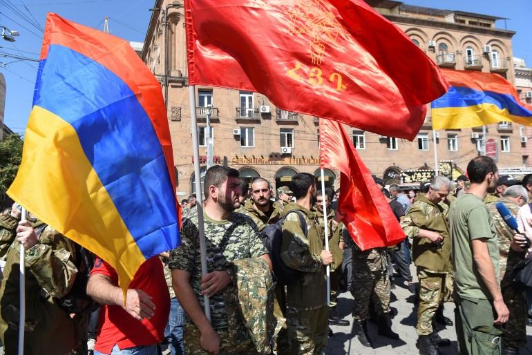 درگیری ارمنستان و آذربایجان