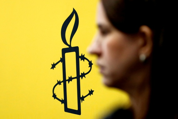 "Amnesty accused the government of running an ""incessant witch hunt"" against human rights organisations [File: Carlos Jass/Reuters]"