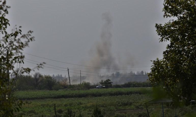 حملات ارمنستان به مرز آذربایجان