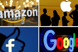 Nationalisation of data would force Big Tech companies to pay nations for the value they are extracting from their citizens, writes Mejias  [File:Reuters]