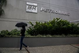 Federal prosecutors in Brooklyn, New York said Sargeant Marine and its affiliates paid bribes between 2010 and 2018 for contracts with state-run oil companies including Brazil's Petroleo Brasileiro SA (Petrobras), whose headquarters in Rio de Janeiro, Brazil is pictured here [File: Dado Galdieri/Bloomberg]