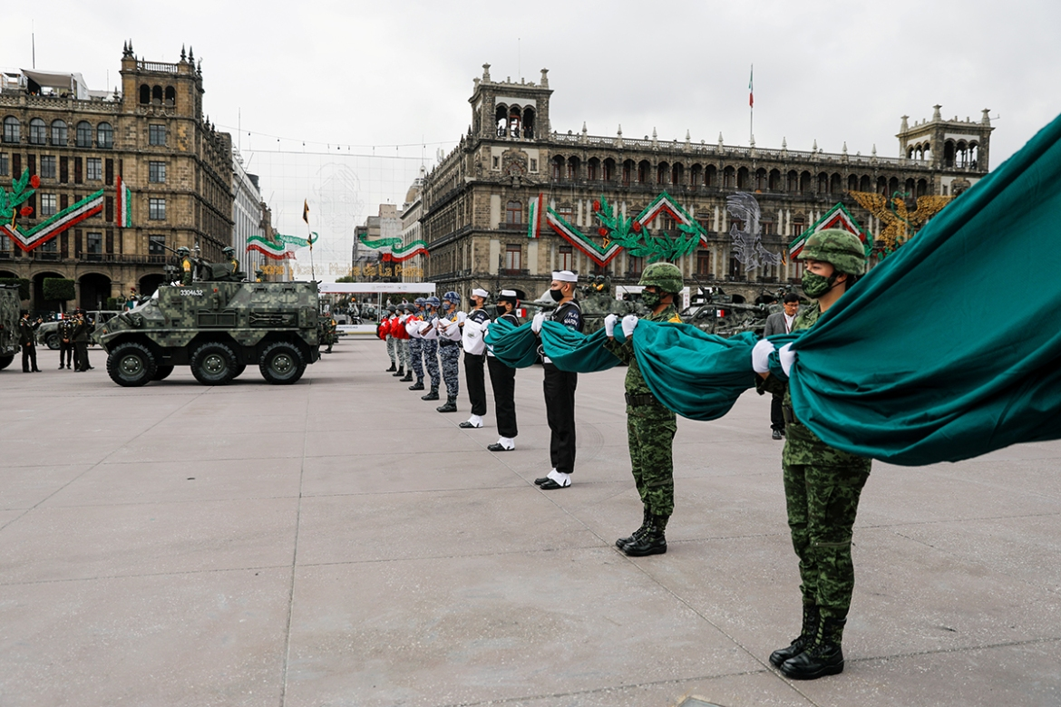 The event has not been cancelled since 1847, during the Mexican-American War, when US troops occupied Mexico City. [Carlos Jasso/Reuters]