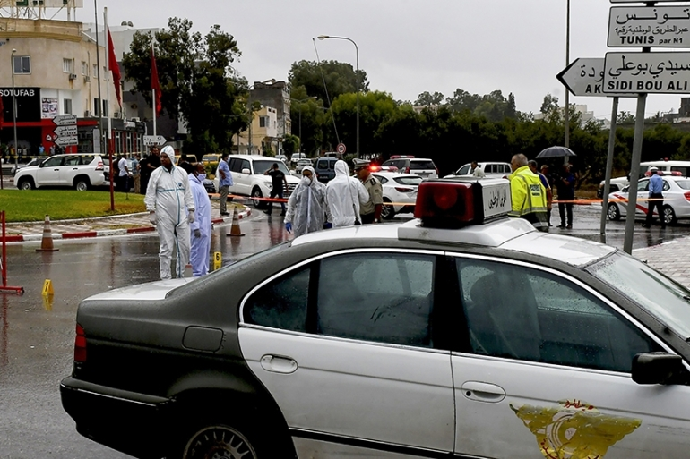 Tunisian authorities say they arrested seven people over the attack [Bechir Taieb/AFP]
