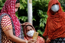 The pandemic is spreading through rural areas and is also resurging in big cities like New Delhi and Mumbai [File: Adnan Abidi/Reuters]