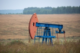 Oil inventories in developed nations rose in July to a record 3.225 billion barrels [File: Andrey Rudakov/Bloomberg]