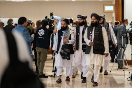 A road map for post-war Afghanistan, nationwide ceasefire and disarmament of the Taliban and other armed groups are part of the talks' agenda [File: Sorin Furcoi/Al Jazeera]