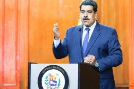 US blacklisted four individuals on Friday for what it said was their help for the government of Venezuelan President Nicolas Maduro to prevent fair parliamentary elections in Venezuela in December [File: Reuters]