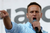 The European Union said it was 'deeply concerned' about reports concerning Navalny's health and called for his 'immediate and unconditional release' [File: Pavel Golovkin/AP]