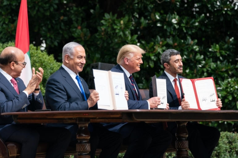 After the UAE and Bahrain normalised Israel ties, Trump said he expected other Arab nations to follow suit, without mentioning names [File: Anadolu]