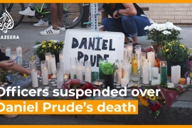 Seven police officers suspended over Daniel Prude's death [Daylife]