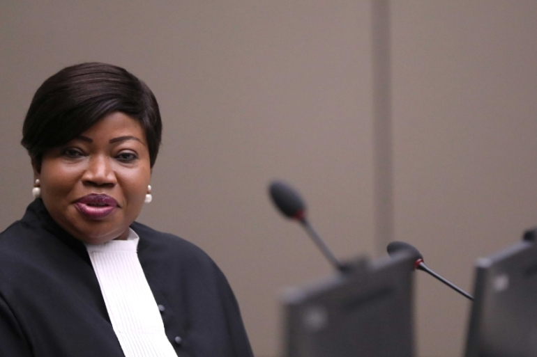 Public Prosecutor Fatou Bensouda is investigating whether war crimes were committed in Afghanistan by the Taliban, Afghan military and US forces [File: Eva Plevier/Pool via Reuters]