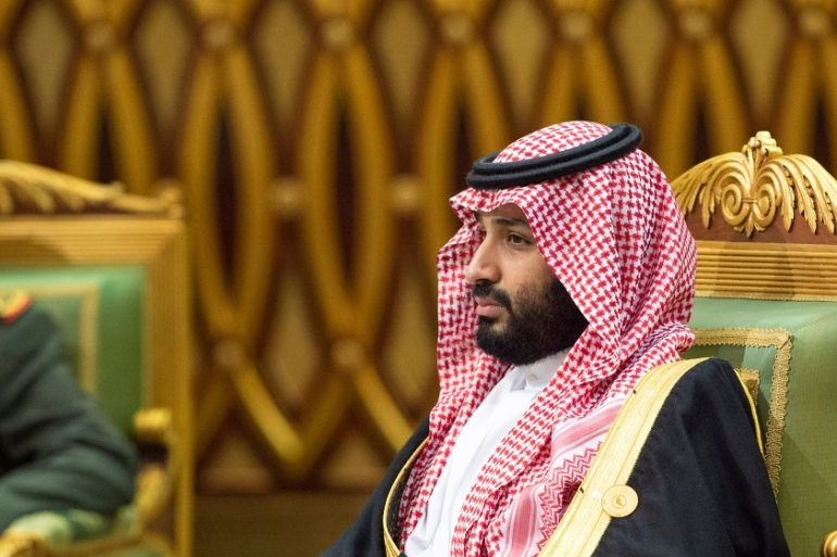 Saudi Arabia's Crown Prince Mohammed bin Salman attends the Gulf Cooperation Council's 40th Summit in Riyadh on December 10, 2019 [Handout via Reuters]