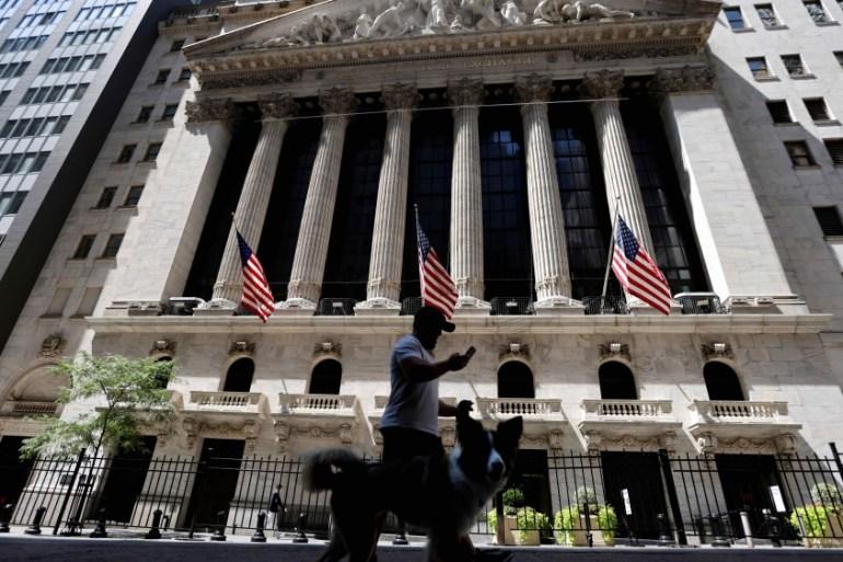 Wall Street Tech Stocks Extend Rally To Lead Us Markets Higher Business And Economy News Al Jazeera