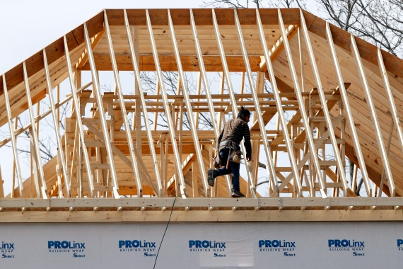 Sales of new homes in August topped one million for the first time since 2006 [File: Mark Humphrey/AP]
