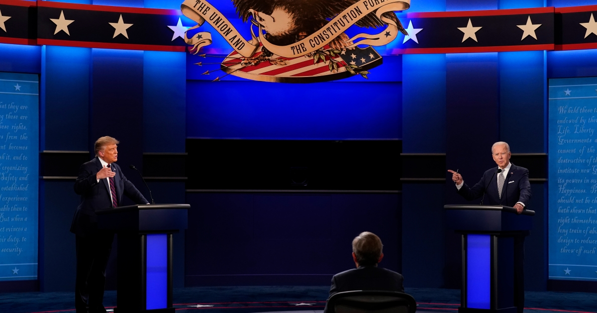Key fact checks from the first US presidential debate of 2020 thumbnail