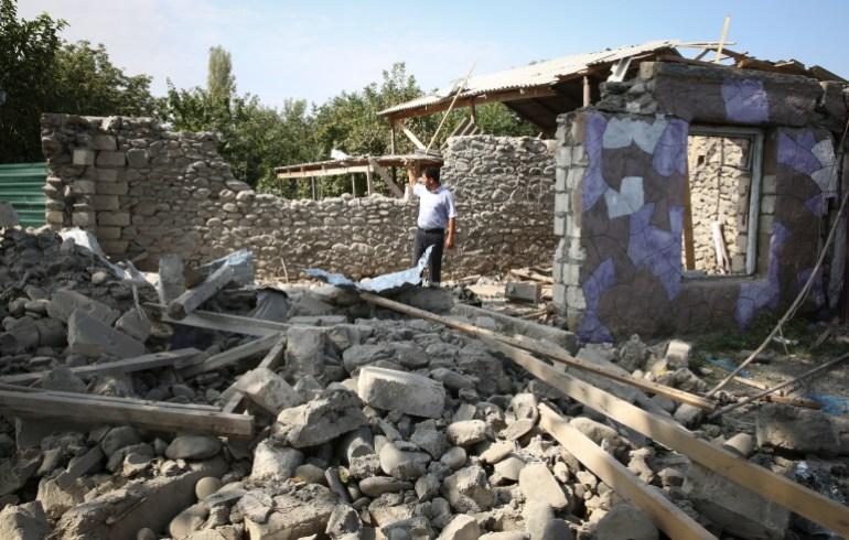 Putin, Macron call for Nagorno-Karabakh ceasefire as deaths mount | Asia