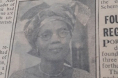 A photo of Funmilayo Ransome-Kuti featured in Nigeria's The Daily Times newspaper on November 17, 1959 [File: The Daily Times]