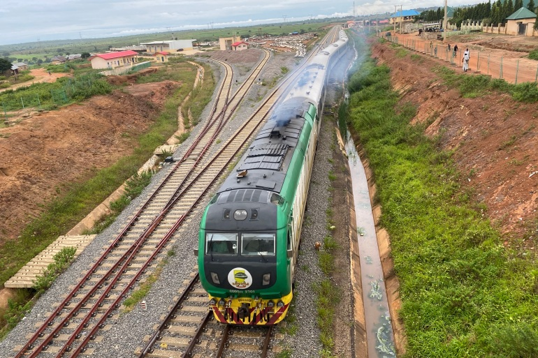 Nigeria's railway people: Life alongside a high-speed rail link
