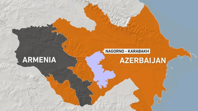 aljazeera.com - Umut Uras - Nagorno-Karabakh battles rage for second day: Live news