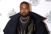 Music mogul Kanye West upped the pressure on his retail collaborators, threatening to withhold any product releases with Gap Inc until he secures a seat on the company's board [File: Brad Barket/Getty Images for Fast Company]
