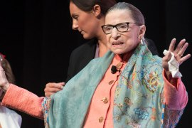 Supreme Court Associate Justice Ruth Bader Ginsburg has died, leaving a legacy of advocacy for equal rights and human rights on the court. [Cliff Owen/AP Photo]