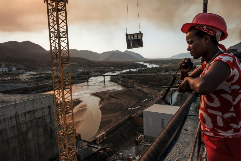 Three countries are deadlocked in negotiations over Ethiopia's massive dam on the Nile river [File: Eduardo Soteras/AFP]