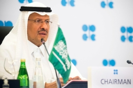 'I'm going to make sure whoever gambles on this market will be ouching like hell,' Saudi Arabia's minister of energy, Prince Abdulaziz bin Salman Al-Saud, said on Thursday [File: Saudi Press Agency/Handout via Reuters]