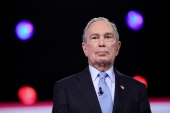 Bloomberg has pledged millions geared towards rallying Latino voters in Florida, saying that they 'will play a critical role in the election' [Logan Cyrus/AFP]