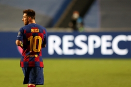 Has Lionel Messi been forced into a U-turn?