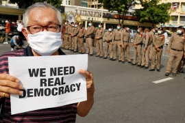 Massive demonstrations grip Thailand