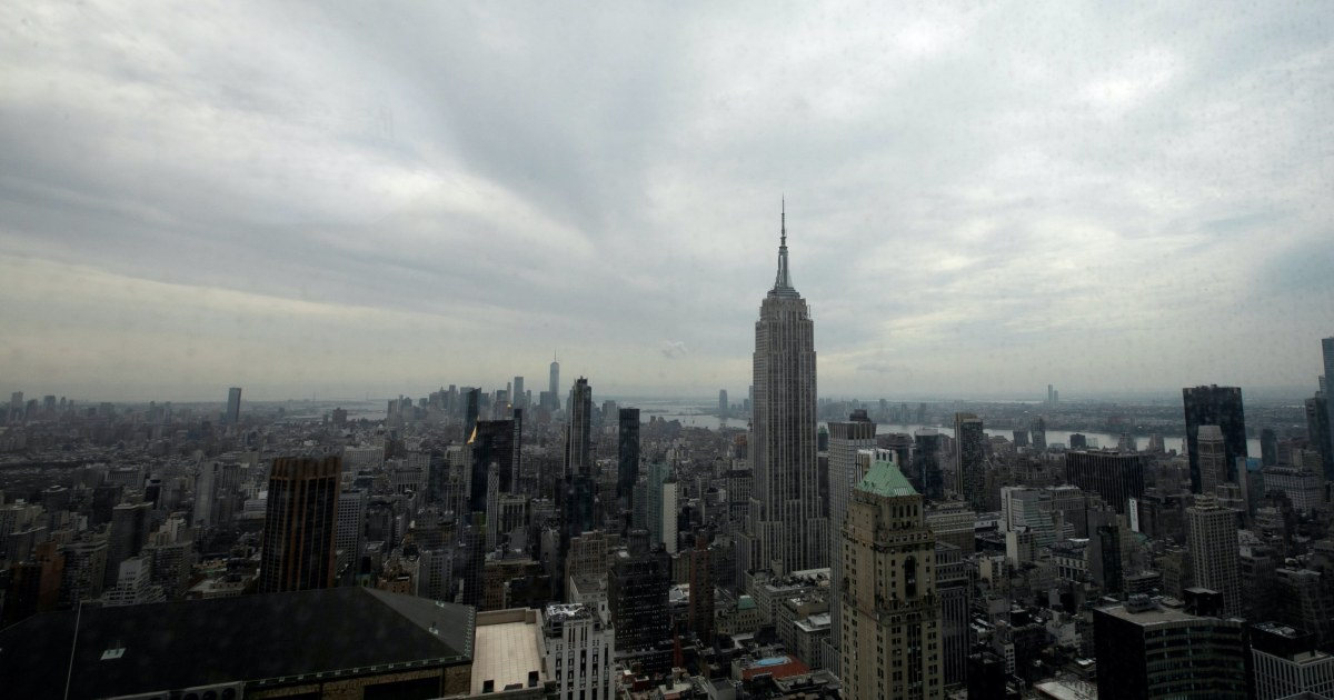 US stocks flat as election jitters mount ahead of debate - aljazeera