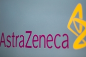 The vaccine is being developed by AstraZeneca and Oxford University [Jason Alden/Bloomberg]